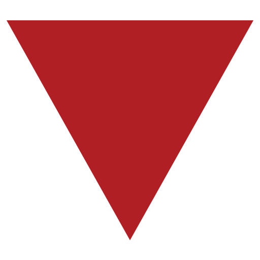 Down-Pointing Red Triangle Emoji