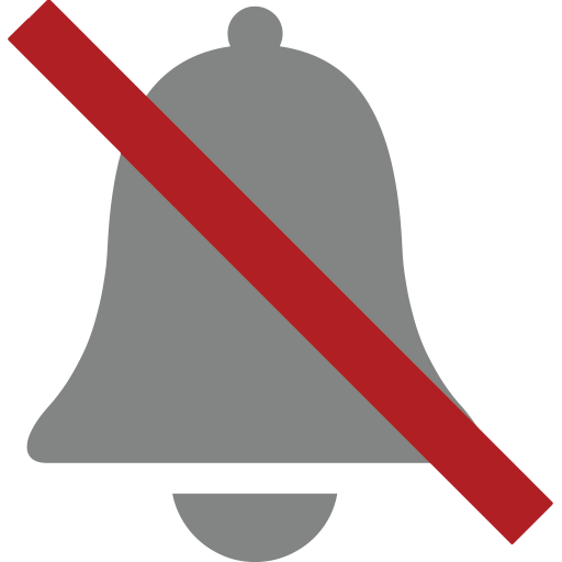 Bell With Cancellation Stroke Emoji