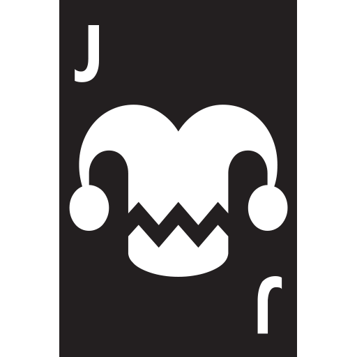 Playing Card Black Joker Emoji