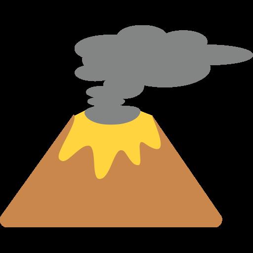Volcano Emoji