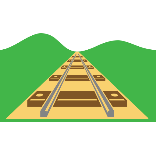 Railway Track Emoji