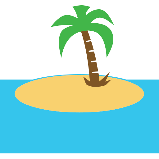 Desert Island Emoji