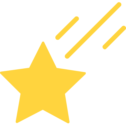 Shooting Star Emoji