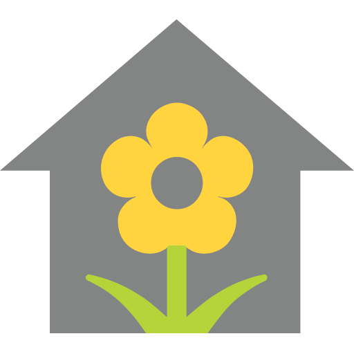 House With Garden Emoji