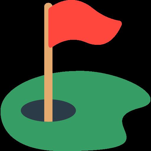 Flag In Hole Emoji