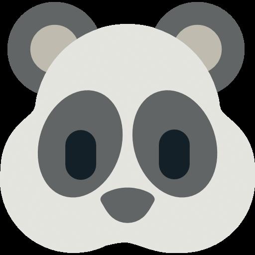 Panda Face Emoji