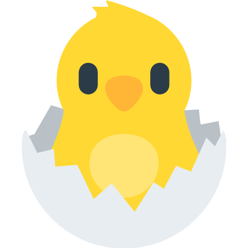 Hatching Chick Emoji