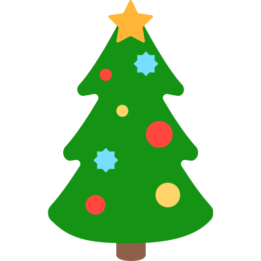 Christmas Tree Emoji for Facebook, Email & SMS | ID#: 11556 ...