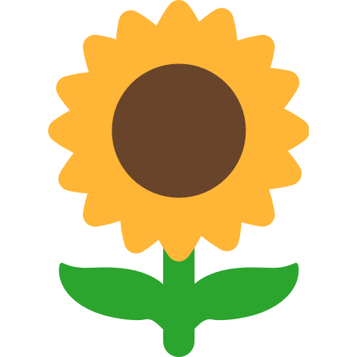 Sunflower Emoji