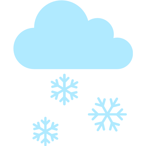 Cloud With Snow Emoji