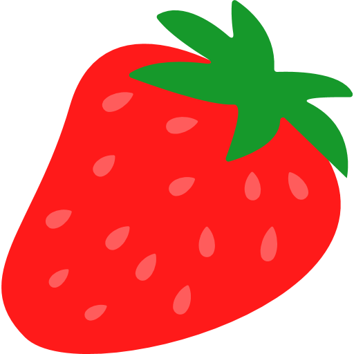 Strawberry Emoji