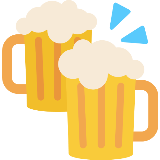 Clinking Beer Mugs Emoji