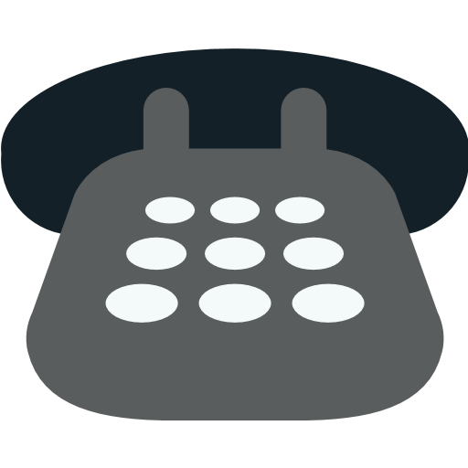 Black Telephone Emoji