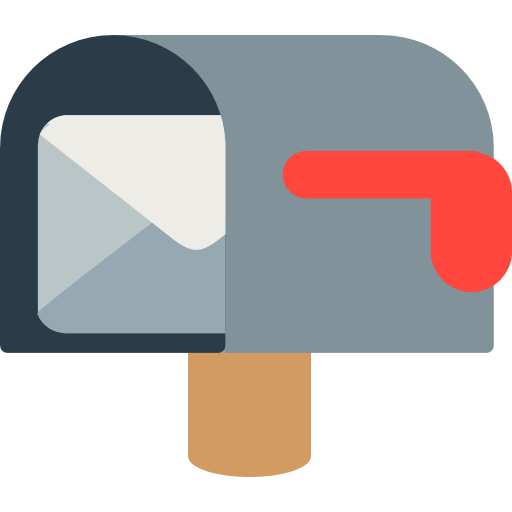 Open Mailbox With Lowered Flag Emoji