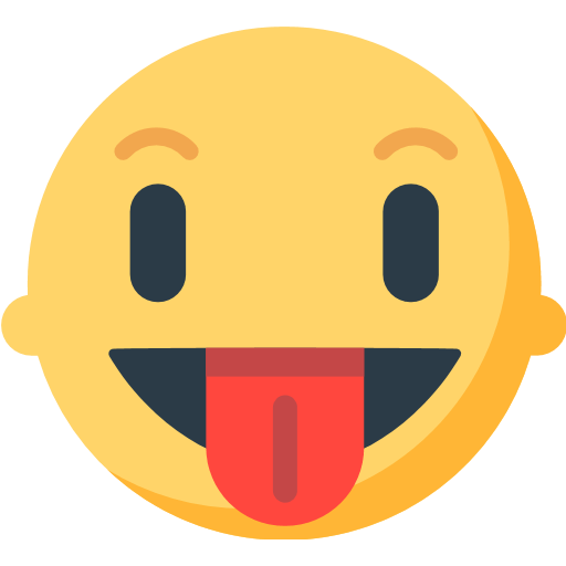 Face With Stuck-Out Tongue Emoji