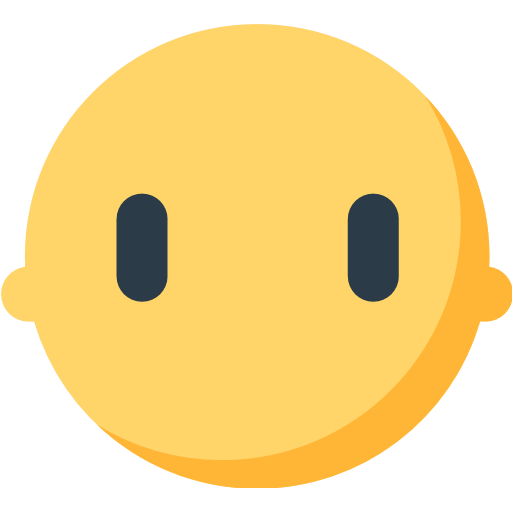 Face Without Mouth Emoji