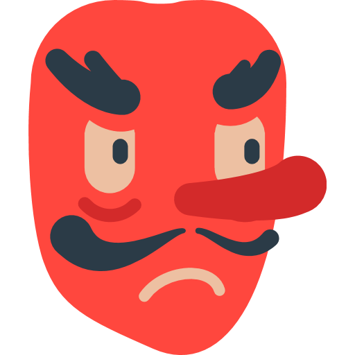 Japanese Goblin Emoji