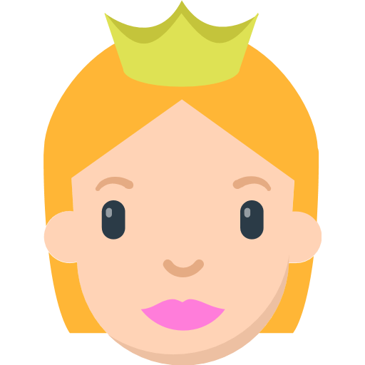 Princess Emoji for Facebook, Email & SMS | ID#: 11438
