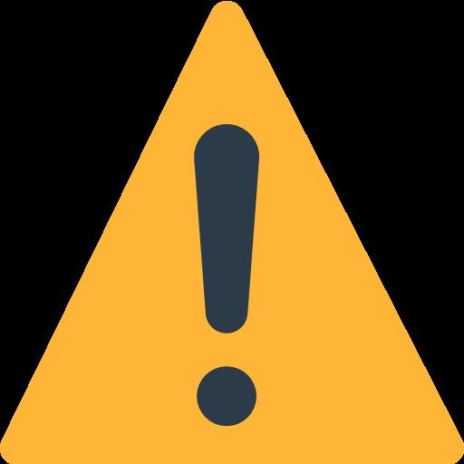 Warning Sign Emoji
