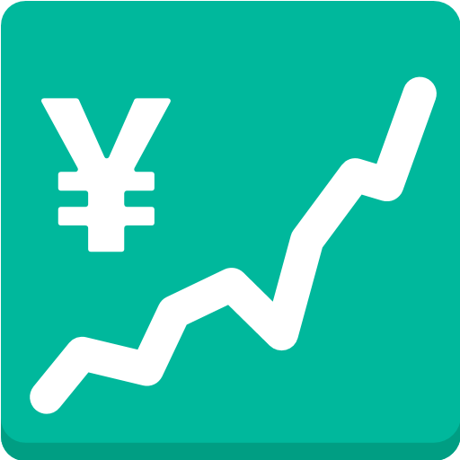 Chart With Upwards Trend And Yen Sign Emoji