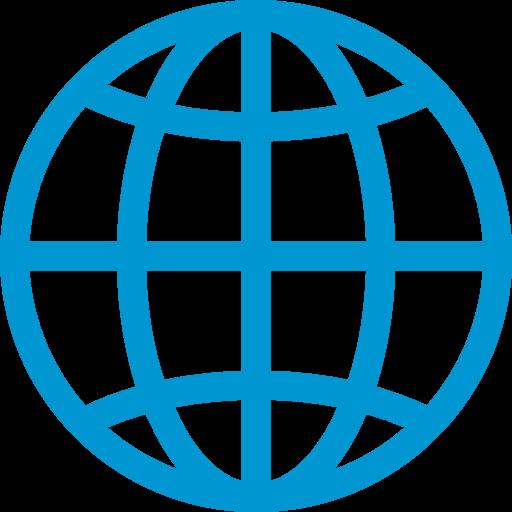 Globe With Meridians Emoji