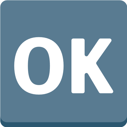 Squared Ok Emoji