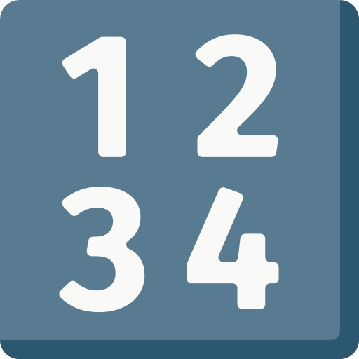 Input Symbol For Numbers Emoji