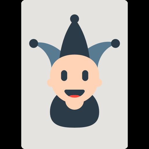 Playing Card Black Joker Emoji