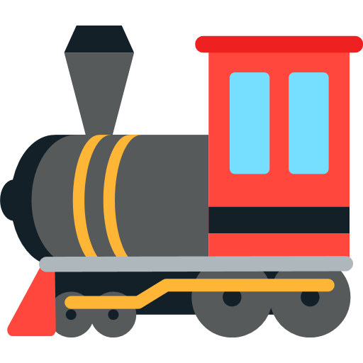 Steam Locomotive Emoji