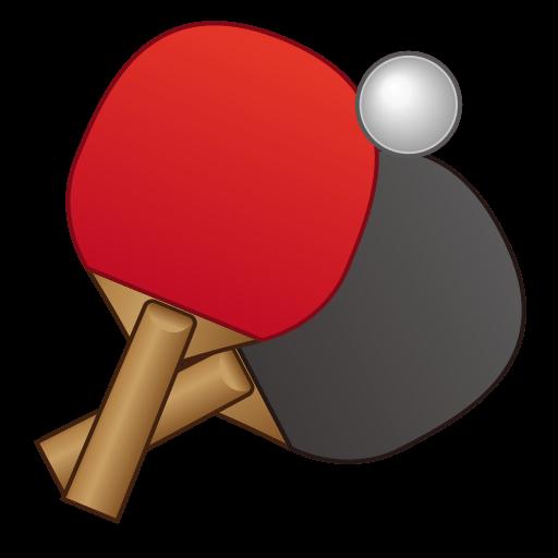 Table Tennis Paddle And Ball Emoji