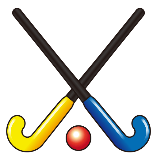 Field Hockey Stick And Ball Emoji