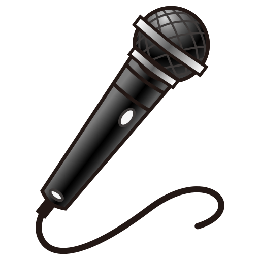 Microphone Emoji for Facebook, Email & SMS | ID#: 12647