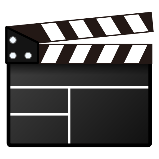 Image result for clapperboard emoji