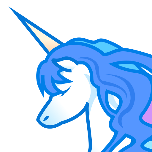 Unicorn Face Emoji