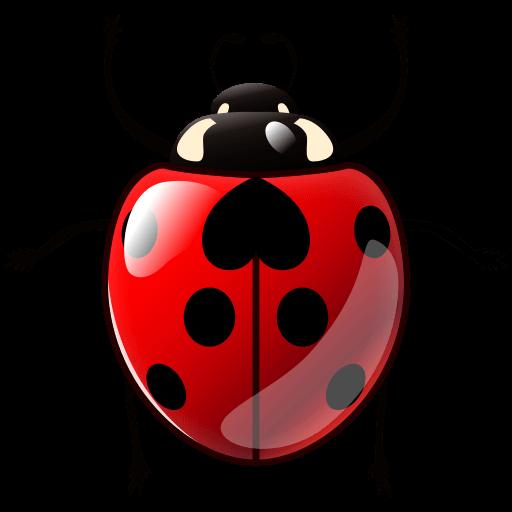 Lady Beetle Emoji