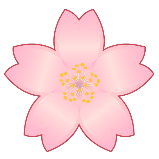 Cherry Blossom Emoji for Facebook, Email & SMS | ID#: 12486 | Emoji