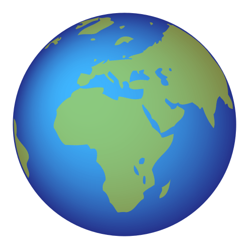 Earth Globe Europe-africa Emoji