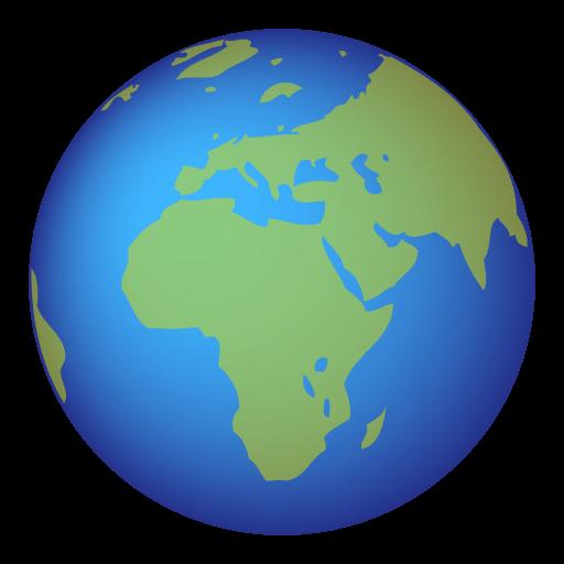Earth Globe Europe-Africa