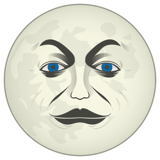 Full Moon With Face Emoji