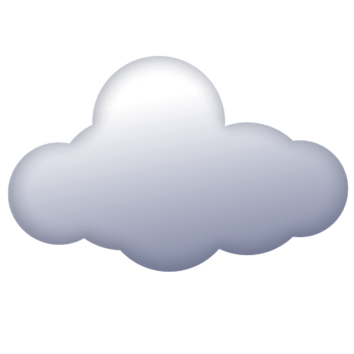 Cloud Emoji