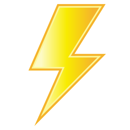 High Voltage Sign Emoji