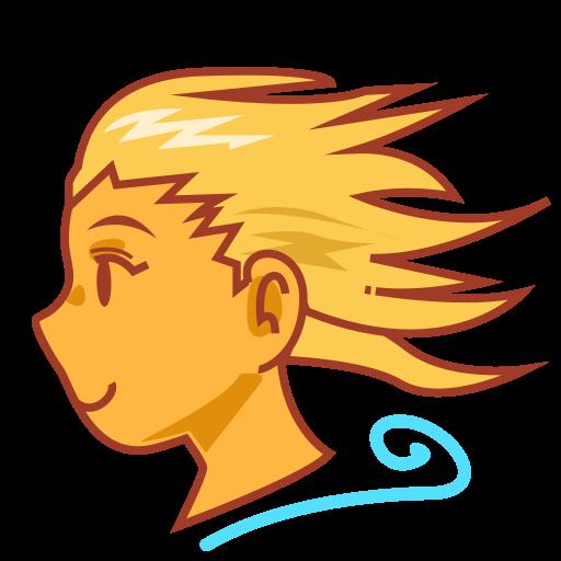 Wind Blowing Face Emoji