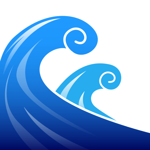 Water Wave Emoji for Facebook, Email & SMS | ID#: 12538