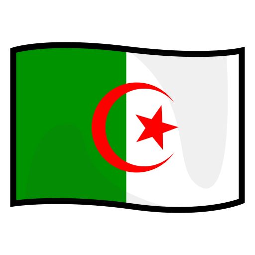 Flag Of Algeria Sticker