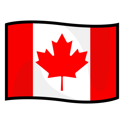 Flag Of Canada Emoji for Facebook, Email & SMS | ID#: 13194