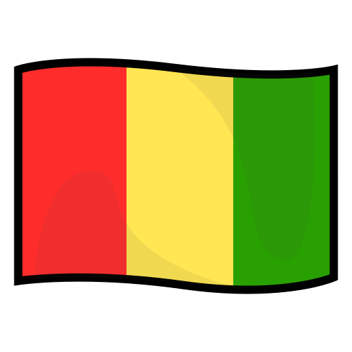Flag Of Guinea Emoji