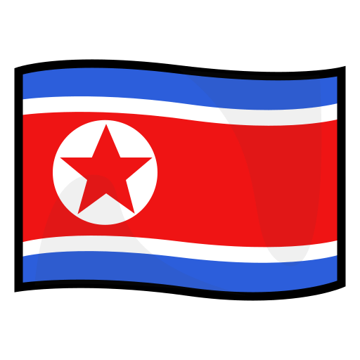 Flag Of North Korea Emoji