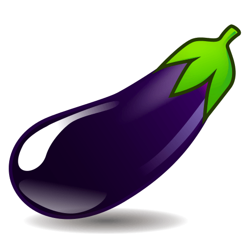 eggplant emoticon - photo #25