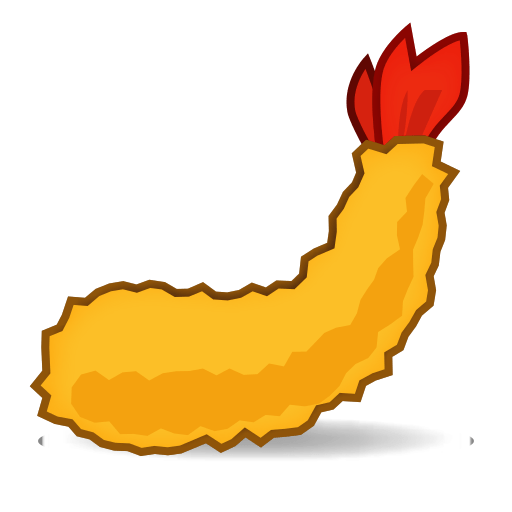 Fried Shrimp Emoji