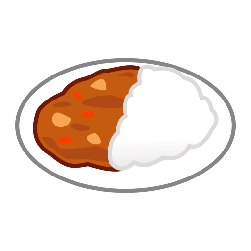 Curry And Rice Emoji
